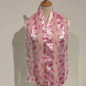 Susan G Koman Breast Cancer Walk scarf USA
